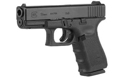 Glock 19 Gen 4 9mm 15 Rd