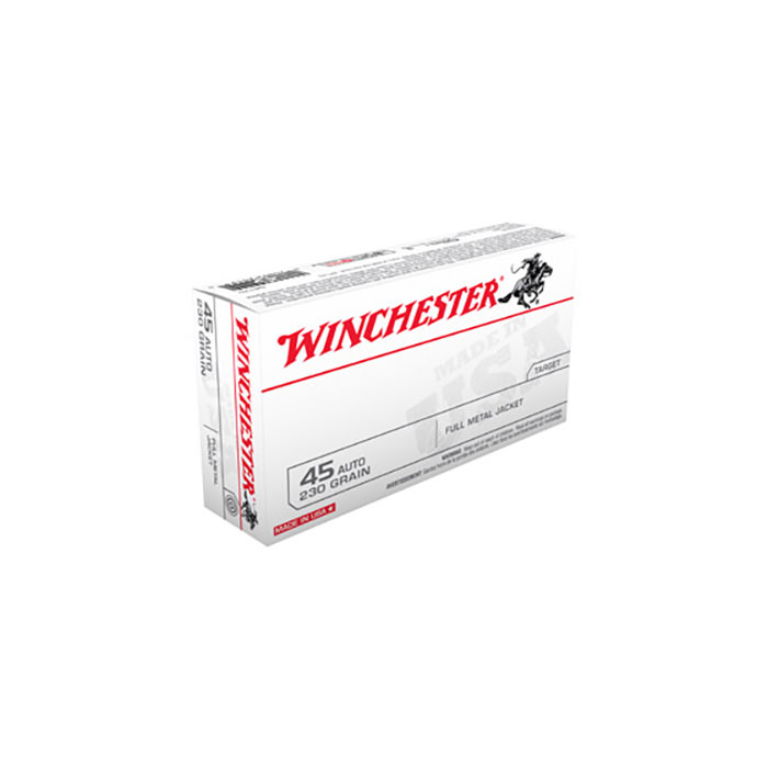 Winchester, 45 Auto, 230 Grs, 50 Rds