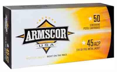 ARMSCOR AMMO .45ACP 230GR. FMJ