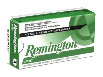 REMINGTON UMC 9MM 115GR FMJ 50